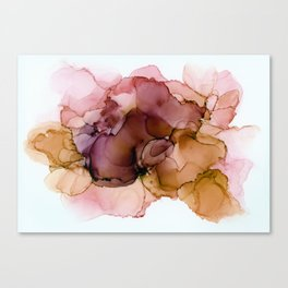 Earthy splash Canvas Print