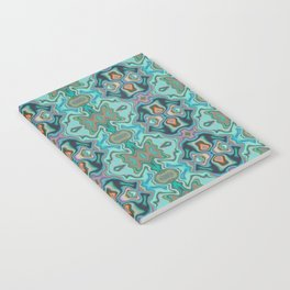 Turquoise marble Notebook