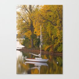 Sailboat, Alburgh, VT Canvas Print