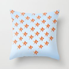 Goldfish Throw Pillow