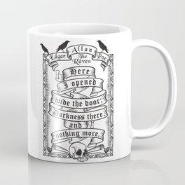 Edgar Allen Poe - The Raven Coffee Mug