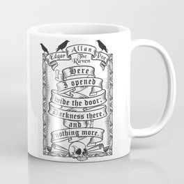 Edgar Allen Poe - The Raven Coffee Mug