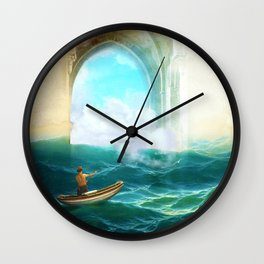 The Veil of Mists Wall Clock