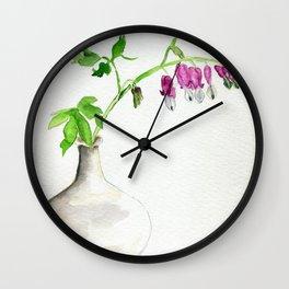 Hearts Bleeding Wall Clock