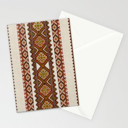 Ukrainian embroidery Stationery Cards