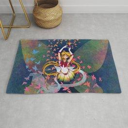 Super Sailor Moon and Rainbow Moon Chalice Rug