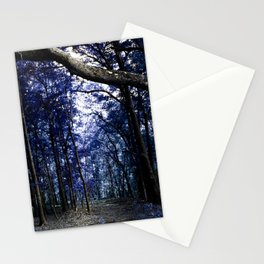 Pathway to Bliss Dark Blue Stationery Cards