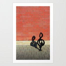 Symphony in Brick Major Art Print