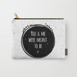 LOVE - You & me were meant to be by Lo Lah Studio Carry-All Pouch