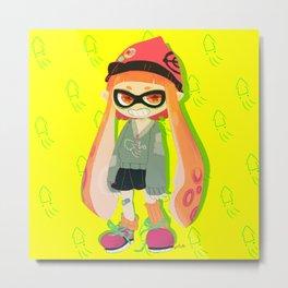squid squid squid squid squid  Metal Print