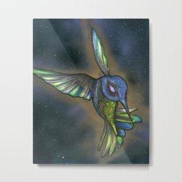 Incan Hummingbird Metal Print
