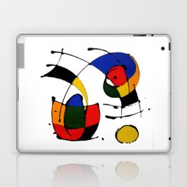 In the Style of Miro Laptop & iPad Skin