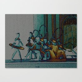 At the Ballet Canvas Print