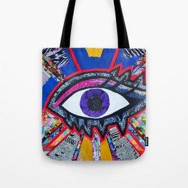 Eye collage Tote Bag