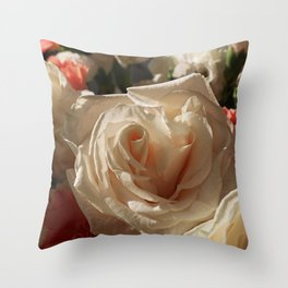 Opened by Candlelight Throw Pillow