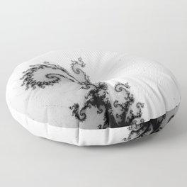 detail on mandelbrot set - pseudopod Floor Pillow