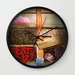 The bored Window Wall Clock