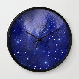 Star Kissed Wind Wall Clock