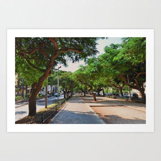 Rothschild avenue Art Print