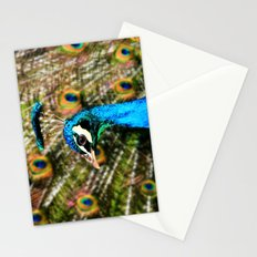 Peacock Blue  Stationery Cards