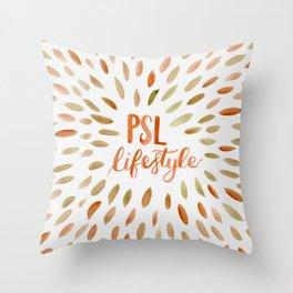 Pumpkin Spice Lifestyle Throw Pillow