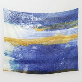 PAINTED WITH THE BLUES Wall Tapestry