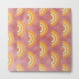 watermelon punch pattern Metal Print