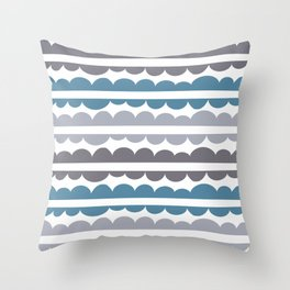 Mordidas Niagara Throw Pillow