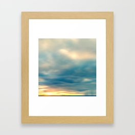 Spring Ice Framed Art Print