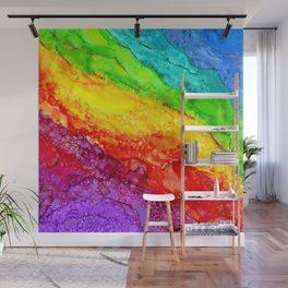 Color Flow #1 Wall Mural