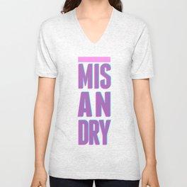 Misandry Unisex V-Neck