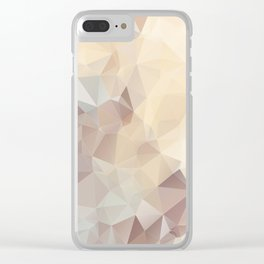 CUSTARD PUDDING Clear iPhone Case