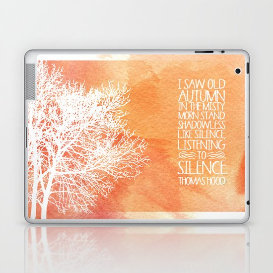 Autumn Silence Laptop & iPad Skin
