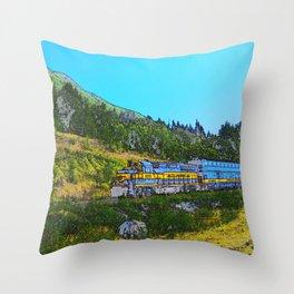 Chugach Explorer Throw Pillow