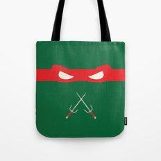 Red Ninja Turtles Raphael Tote Bag