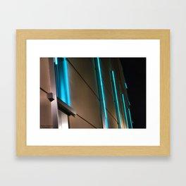 Blue Lights Framed Art Print