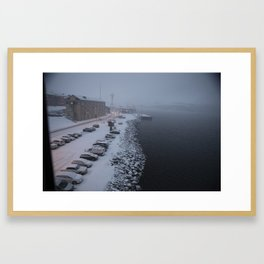 Kirkenes, 2016 Framed Art Print