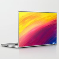 skyfall Laptop & iPad Skins featuring Skyfall by Sierra Christy Art
