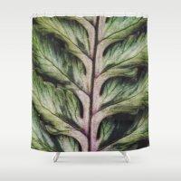 fern Shower Curtains featuring fern by Bonnie Jakobsen-Martin