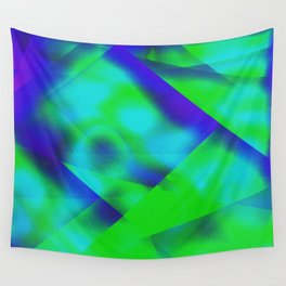 Green Color Package Wall Tapestry