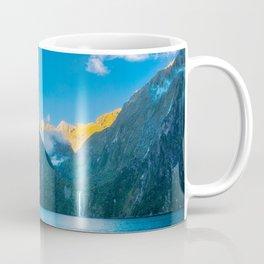 Milford Sound wild beauty, New Zealand. Coffee Mug