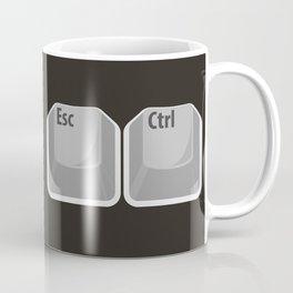 Escape Control Coffee Mug
