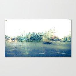 A través del cristal (color version) Canvas Print