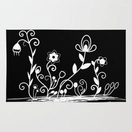 Floral (inverted) Rug