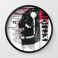 silent Wall Clocks featuring Silent by Tshirt-Factory
