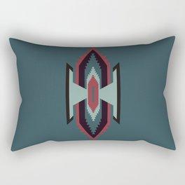 Southwestern Santa Fe Tribal Pattern Rectangular Pillow