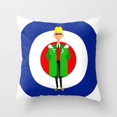 The Mod Throw Pillow