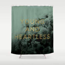 Heartless Shower Curtain