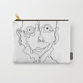 Scribble Man 01 Carry-All Pouch