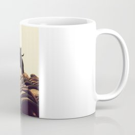 gatos en el tejado Coffee Mug